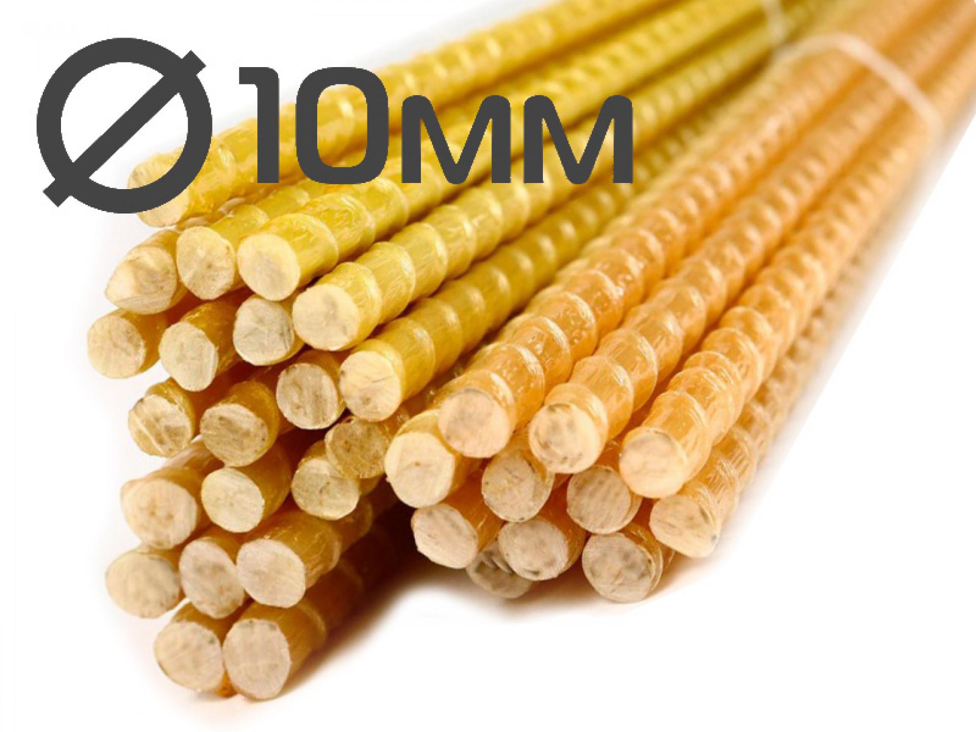 Колышки для подвязки растений 10x1200 миллиметров от производителя в Саратове