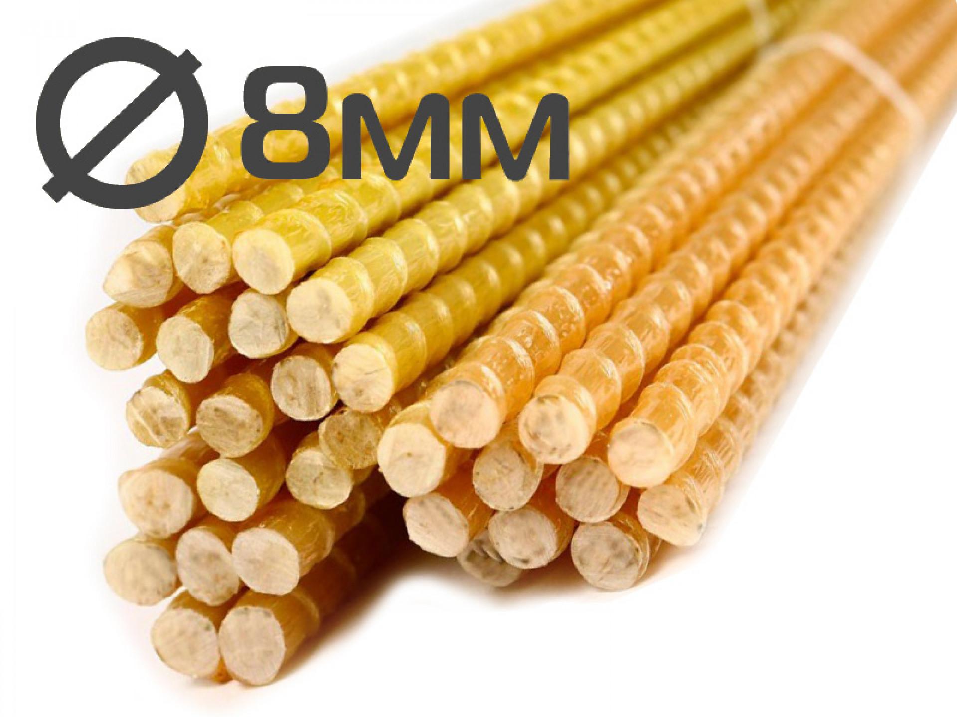 Колышки для подвязки растений 8x1200 миллиметров от производителя в Саратове
