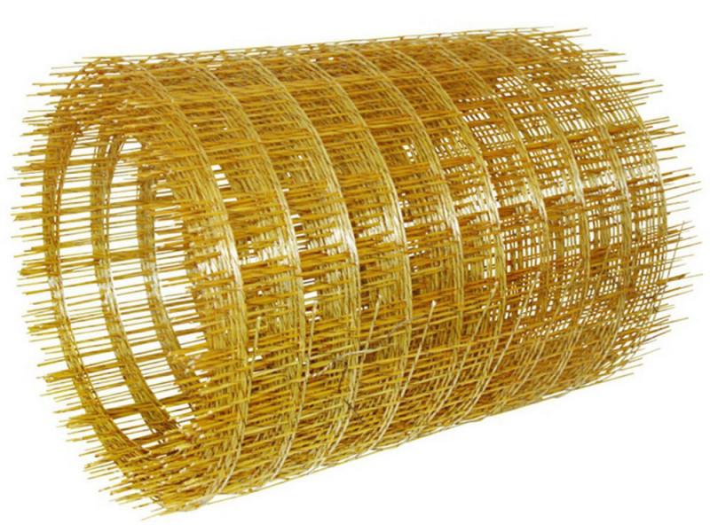 Сетка композитная, размер ячейки 50х50 мм, толщина 3 мм в Саратове